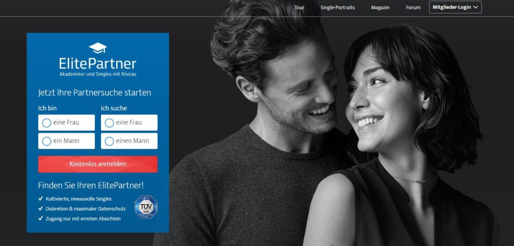 elite partner homepage